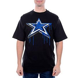 Dallas Cowboys Paint Star Tee