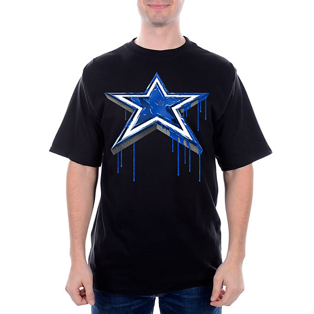 Dallas Cowboys Paint Star Tee