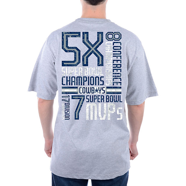Dallas Cowboys Just The Stats Tee