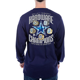 Dallas Cowboys Hardware of Champions Long Sleeve Tee