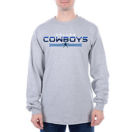 Dallas Cowboys Horizon Long Sleeve Tee