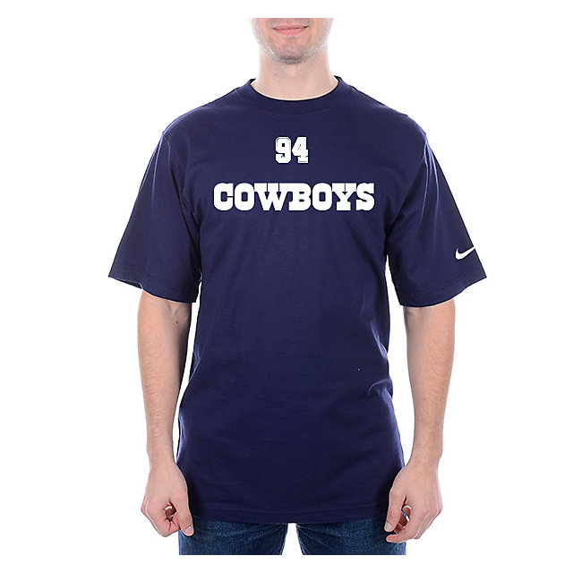 Dallas Cowboys Nike Name and Number Tee - DeMarcus Ware #94