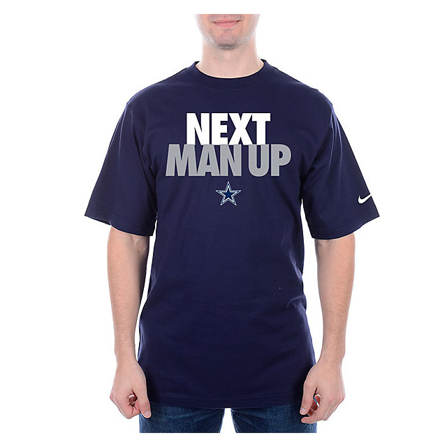 Dallas Cowboys Nike NEXT MAN UP Tee