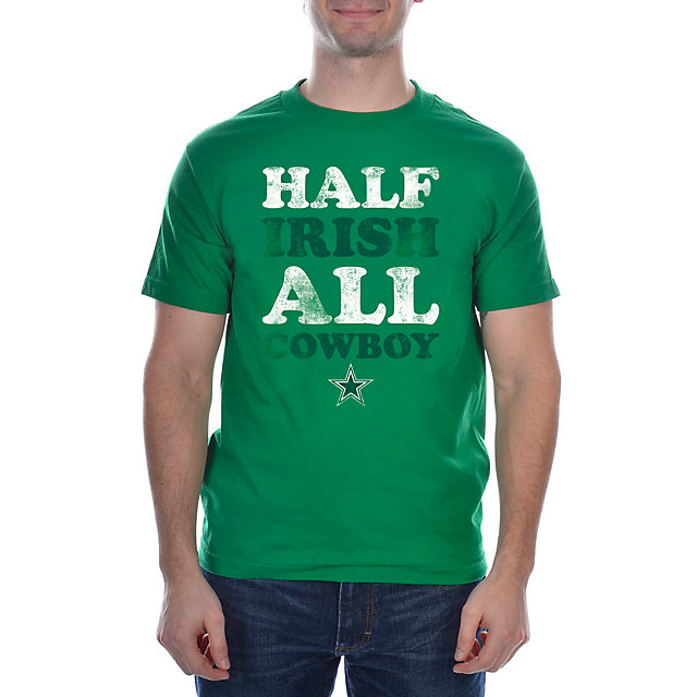 Dallas Cowboys St Patricks All Cowboy Tee