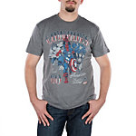 Dallas Cowboys Marvel Americas Team Tri-Blend Tee