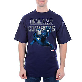 Dallas Cowboys MARVEL Iron Man Practice Tee