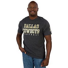 Dallas Cowboys Camo Practice Tee