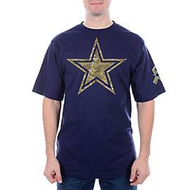 Dallas Cowboys Camo Logo Premier Tee
