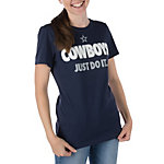 Dallas Cowboys Nike Womens Just Do It Tee