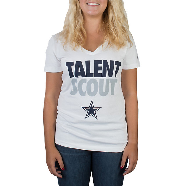 Dallas Cowboys Nike Womens Talent Scout Tee