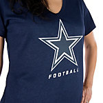 Dallas Cowboys Nike Womens Legend Logo Tee