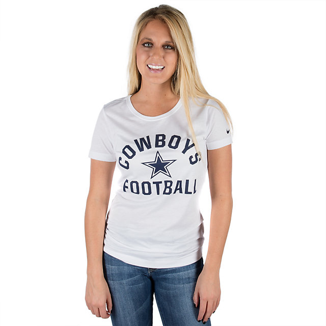Dallas Cowboys Nike Womens Tri-Blend Hometown Tee