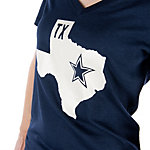 Dallas Cowboys Nike Womens Tri-blend State Tee