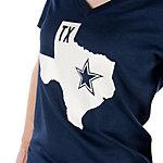 Dallas Cowboys Nike Womens Tri-blend State Tee