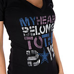 Dallas Cowboys Womens My Heart Belongs Tee