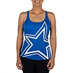 Dallas Cowboys Womens Big Star Yoga Tank