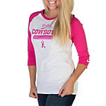 Dallas Cowboys Nike BCA Crucial Catch Raglan