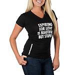 Dallas Cowboys Jenny Holzer Womens Expiring For Love Tee