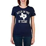 Dallas Cowboys Nike Roar Womens Heart of Texas Tee