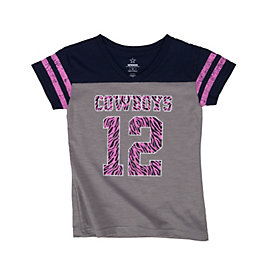 Dallas Cowboys Girls Nostalgia Tee