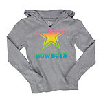 Dallas Cowboys Girls Honeysuckle Hoody Tee