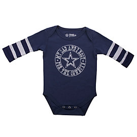 Dallas Cowboys Half Pint Layered Bodysuit