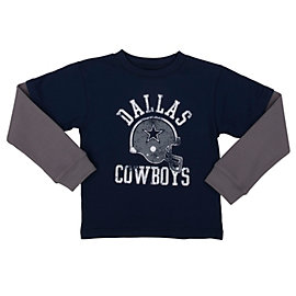 Dallas Cowboys Toddler Tyke Layered Tee
