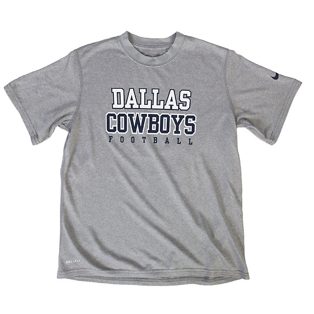 Dallas Cowboys Nike Youth Legend Practice Tee
