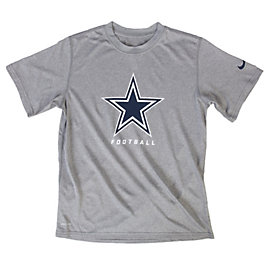 Dallas Cowboys Nike Youth Legend Elite Font Tee