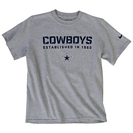 Dallas Cowboys Nike Youth Team Issue Tee