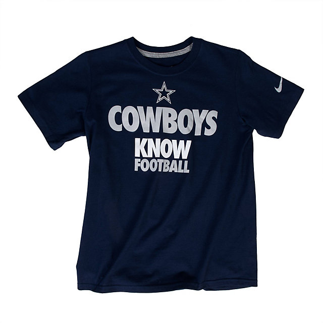 Dallas Cowboys Nike Youth Draft 2 Tee