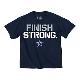 Dallas Cowboys Youth Finish Strong Tee