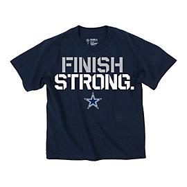 Dallas Cowboys Youth Finish Strong Tee