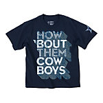 Dallas Cowboys Youth How Bout 3D Tee