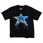 Dallas Cowboys Youth Paint Star Tee