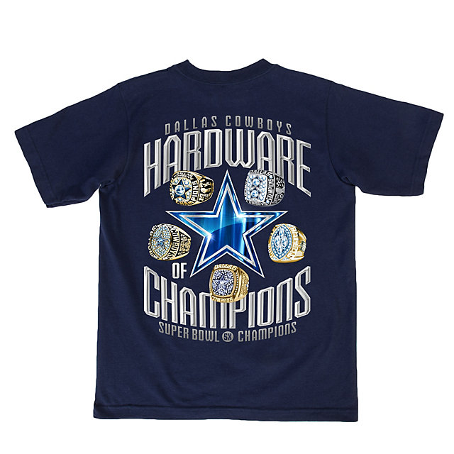 Dallas Cowboys Youth Hardware of Champions Tee