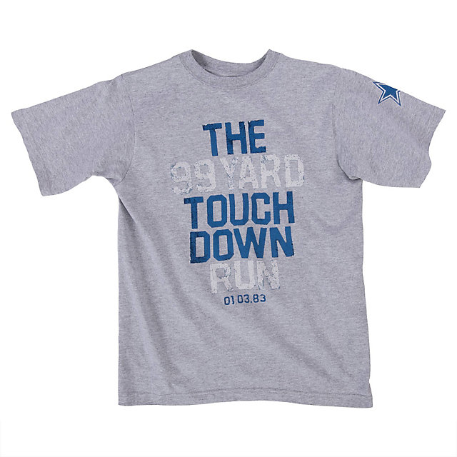 Dallas Cowboys Youth 99 Yard Run Tee