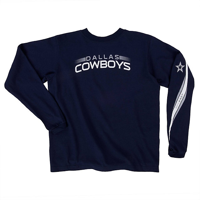 Dallas Cowboys Youth Upshift Long Sleeve Tee