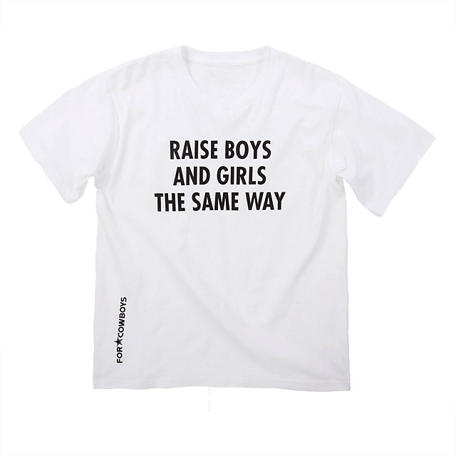 Dallas Cowboys Jenny Holzer Youth Raise Tee