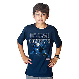 Dallas Cowboys MARVEL Iron Man Youth Practice Tee