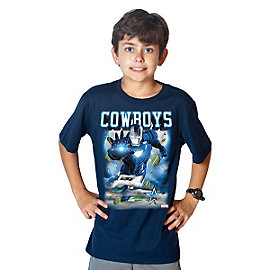 Dallas Cowboys MARVEL Youth Iron Man Opposition Tee