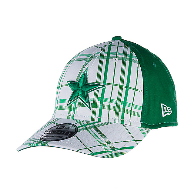 Dallas Cowboys New Era St Patricks Plaidtastic 39Thirty
