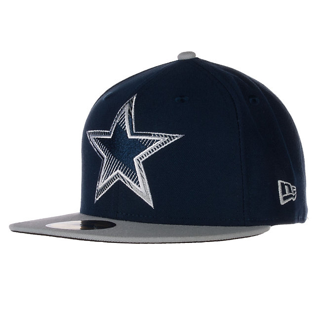 Dallas Cowboys New Era Edge Glare 59Fifty