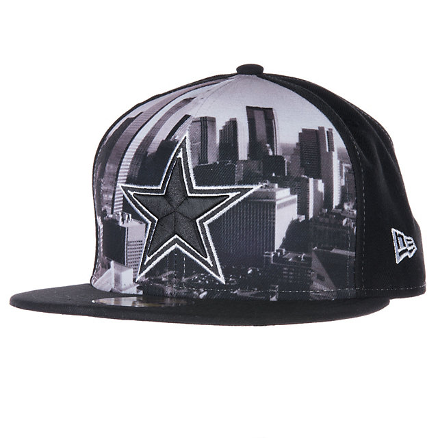 Dallas Cowboys New Era Logo Vista 59Fifty