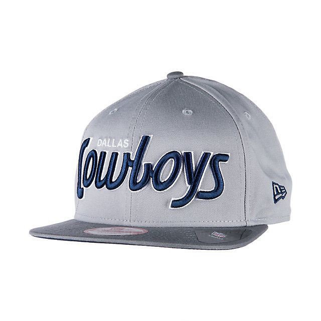 Dallas Cowboys New Era Team Script 9Fifty Cap