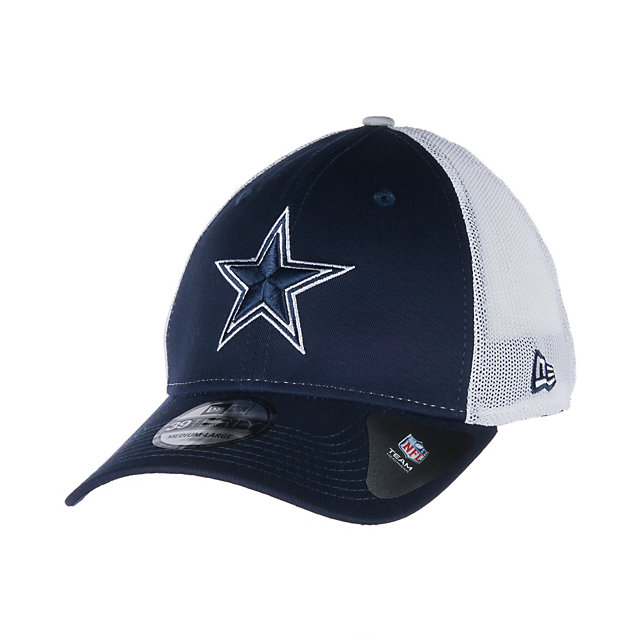 Dallas Cowboys New Era Double Up Stretch 39Thirty