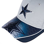 Dallas Cowboys New Era Hybrid Hex 39Thirty