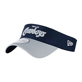 Dallas Cowboys New Era Viza Scripter Visor