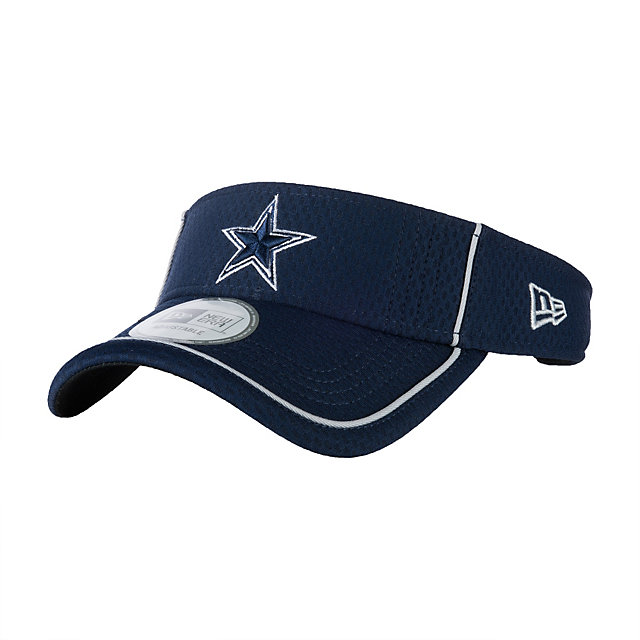 Dallas Cowboys New Era Pipe Up Visor
