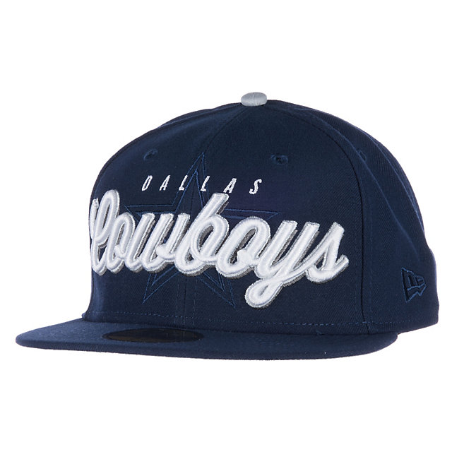 Dallas Cowboys New Era Script Over 59Fifty